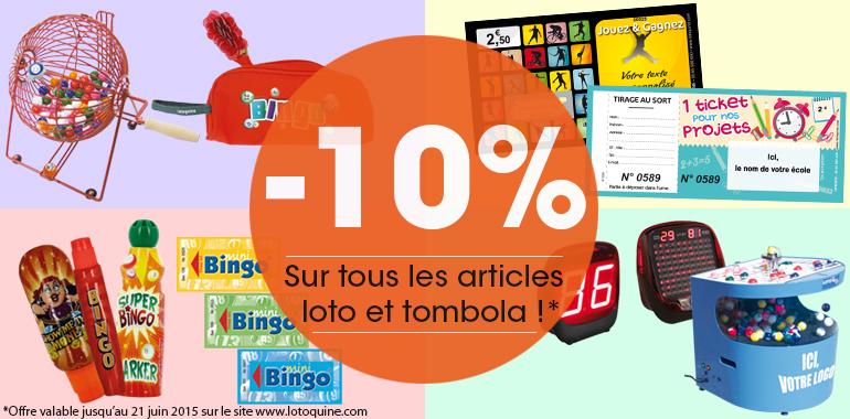 Offre Lotoquine : -10%