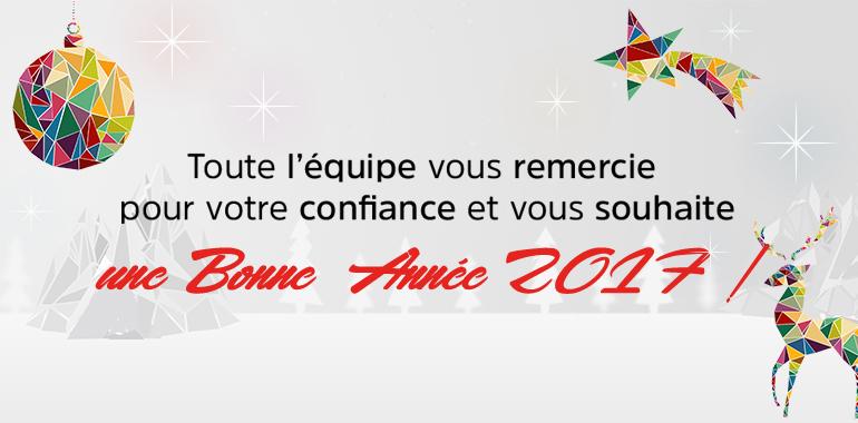 Lotoquine - BaltHasard - Lotopassion vous souhaitent une Bonne Année 2017 !